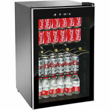 150 CAN Beverage Refrigerator Mini Wine Fridge Soda Drinks Bar Cooler