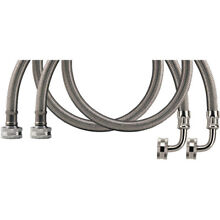 Certified Appliance Wm72ssl2pk Braided Stainless Steel Washing Machine Hose with
