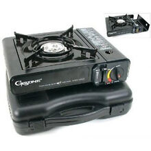 Gasone Portable Butane Gas Stove Range CSA Approved Carry Case Camping Cooking