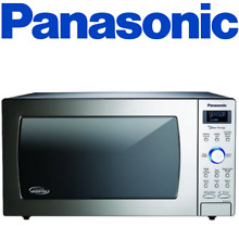Panasonic NN SD775S 1 6 Cu  Ft  Built In Countertop Microwave Oven