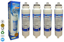 4 x IcePure RWF3900A Compatible for Liebherr SBS7052 4 Fridge Water Filter