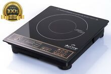 Lux New Best 1800W Portable Induction Cook Top Countertop Burner Gold Camp Auto