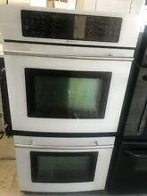 27  JennAir Electric Wall Double Oven Convection White Color