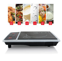 Portable Induction Cooktop 2000W Electric Countertop Burner Digital LED Sensor
