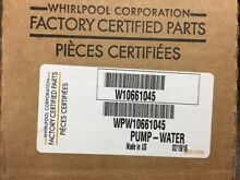 MAYTAG  KENMORE WHIRLPOOL WASHER PUMP WPW10661045 W10661045 OEM NEW