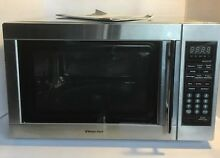 Magic Chef Microwave Oven 1 3 cu  ft  Kitchen Countertop in Stainless Steel