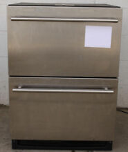 U LINE U 2275DWRCS 00 24  BUILT IN DOUBLE DRAWER UNDER COUNTER REFRIGERATOR