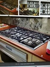 Wolf CT36G S 36  5 Burner Gas Cooktop