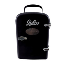 Igloo Mini Beverage Fridge   6 Cans  Black MIS129C BLACK