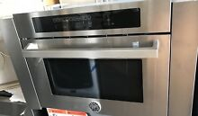 Bertazzoni 24  SO24PROX Combination Microwave Speed Single Electric Wall Oven