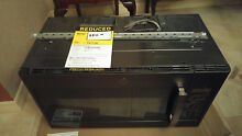 GE   1 9 Cu  Ft  Over the Range Microwave   Black Slate
