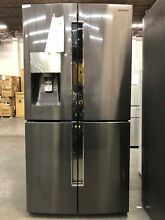 Samsung 22 5 cf French Door Refrigerator in Black Stainless Steel   RF23J9011SG