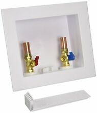 Oatey Quadtro 2 in  Copper Sweat Washing Machine Outlet Box Hammers 38569 NEW