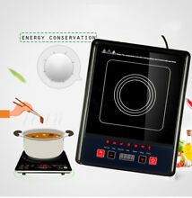 Electric Portable Induction Cooker Burner Cooktop Digital LED Display Kitchen US