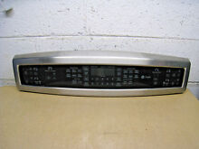 GE PROFILE 191D5594P002 191D5810G009 WB27T11237 DOUBLE OVEN STOVE CONTROL PANEL