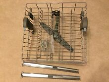 Maytag Dishwasher Top Rack AND Bottom BOTH MDB8949SB Rollers Tracks LAST TIME