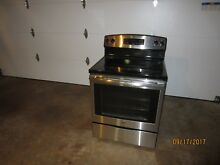 Electric stove range