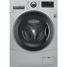 LG Silver All In One Washer And Dryer Combo