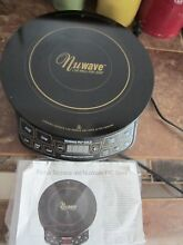 NuWave PIC Gold 1500W Portable Induction Cooktop Countertop Burner   Ships FREE