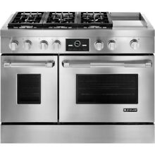 Jenn Air JDRP548WP 48  Pro Style Stainless Steel Dual Fuel Range Brand New InBox