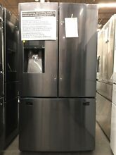 Samsung 25 cu ft French Door Refrigerator in Fingerprint Resistant   RF263BEAESG