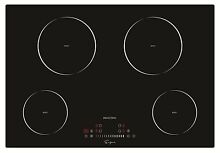 Empava 30 and rdquo  Electric Induction Cooktop Smooth Surface Black Tempered