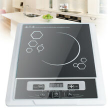 US Electric 2000W Induction Cooktop Burner Cooker Countertop Touch Cookware Safe