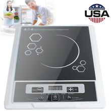 LED Screen Digital Electric Induction Cooktop Countertop Burner Home Kitchen USA