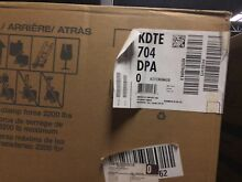 KDTE704DPA KITCHENAID 24  6 Cycle 7 Option Panel Ready Dishwasher DISCO IN BOX