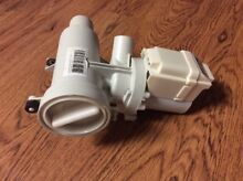 GE Washer Drain Pump Assembly Hanning  WMAA001200000