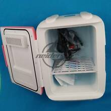 8L New pink Office Kitchen Fridge vehicle mounted Dorm Room Mini Refrigerator