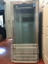 Frigidaire Commercial Stainless 17 9 cf Glass Door Front Refrigerator