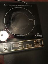 DUXTOP 1800 Watt Portable Induction Cooktop Countertop Burner 8100MC