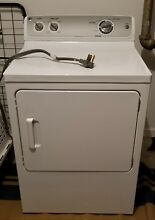 GE Electric Dryer  White  6 8 cu ft