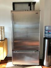 Pre owned Sub Zero 650 S 20 6 cu  ft  Bottom Freezer Refrigerator