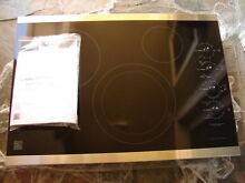 New Kenmore Elite 30  Stainless Steel Electric Cooktop Model 45113