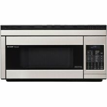 Sharp R1874T Microwave Oven   Single   1 10 ft   Stainless Steel