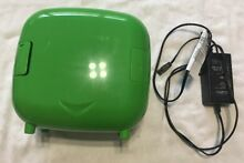 Mini Portable Fridge w Carrying Handle and Cooler Warmer Function Ly0704 GREEN