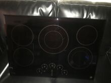 GE PP9030DJBB Profile 30  Black Electric Smooth Cooktop