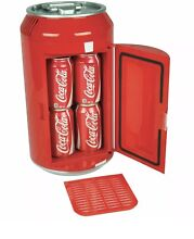 Coca Cola Can Portable Refrigerator Auto Compact   Electric Collector