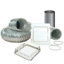 Dryer Vent Kit Guard 4 Inch X 8 Ft Exhaust Hoods Washers Major Appliances Home