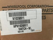 New  Genuine Whirlpool OEM W10268911 Washer Switch WL WPW10268911