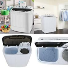 Washer Dryer Combo Compact Portable Machine RV Camper Apartment Top Load Washing