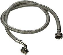 Washing Machine Hose With Elbow Braided Stainless Steel Upc Certified 2 Pack 4