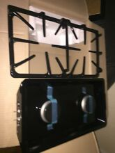 GE GAS STOVE OVEN COMPLETE BURNER GRILL GRATE SET WITH PANS TRAYS NEW IN BOX