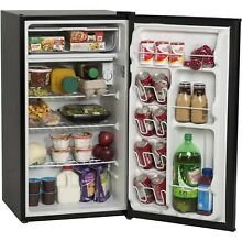 Small Compact Refrigerator For Small Spaces Room 3 3Cu Ft Black Arctic King