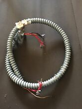 GE 30  electric cooktop downdraft wire conduit assemble used