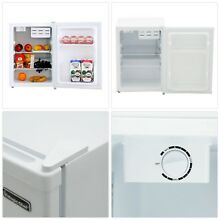 Mini Fridge Refrigerator White College Dorms Garage refrigerator Personal