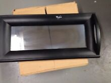 Whirlpool MH1141XMB 0 MICROWAVE DOOR Assembly