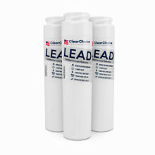 ClearChoice Replacement for GE GSWF Refrigerator Filter  Lead Reduction  3 Pack